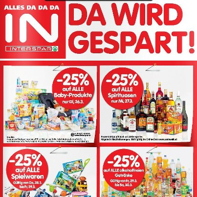 Interspar Ostern