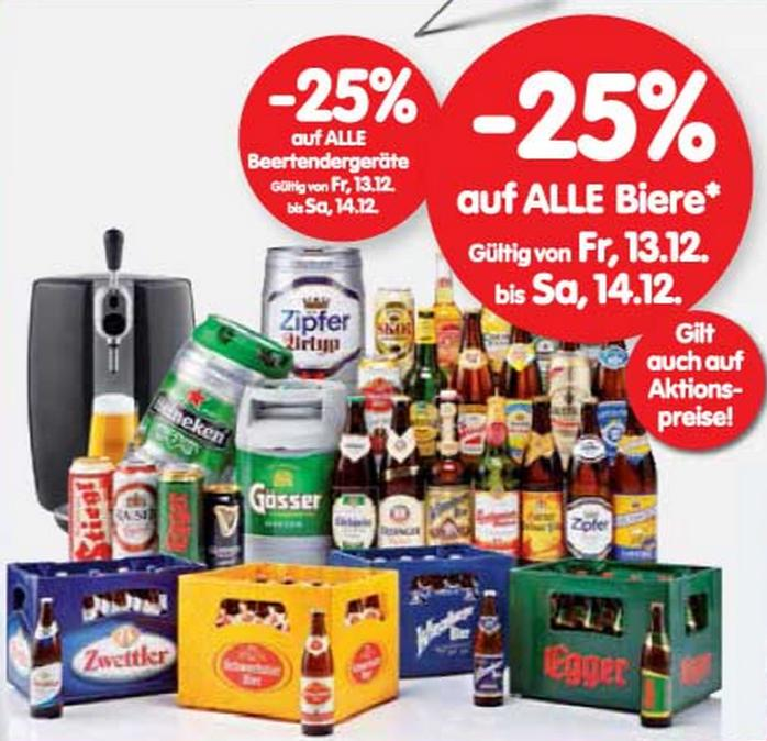 Bier Beertender Interspar