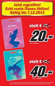 iTunes Media Markt