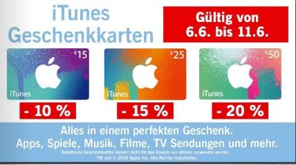 Lidl iTunes Guthaben