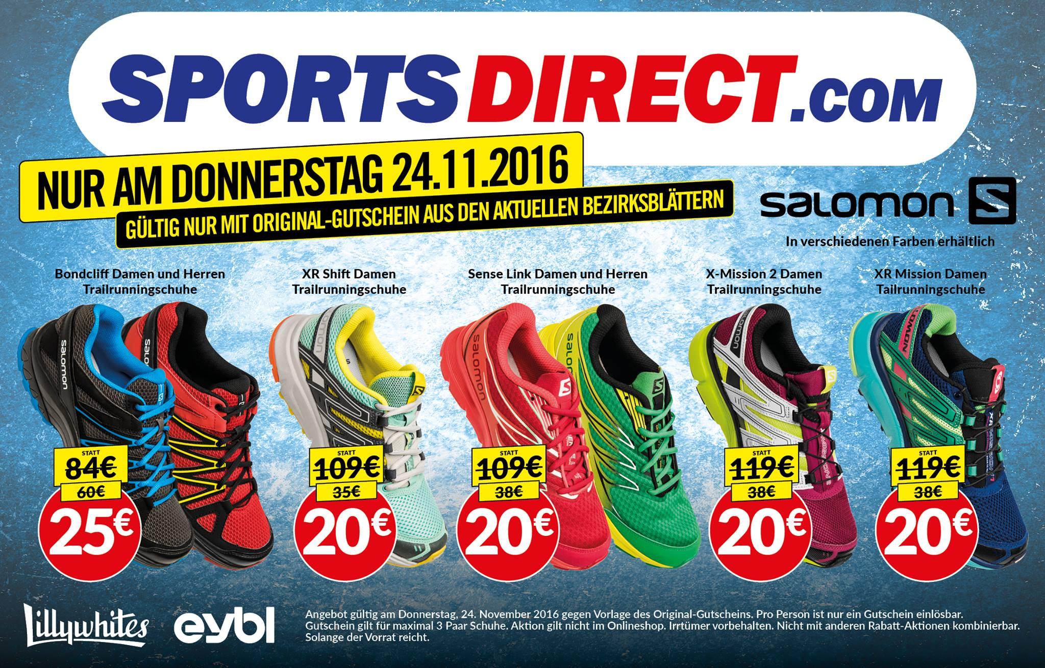 Sportsdirect Salomon Sportschuhe