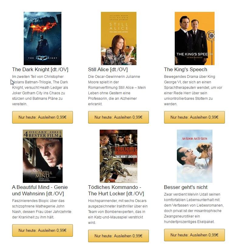 Amazon Video OScar