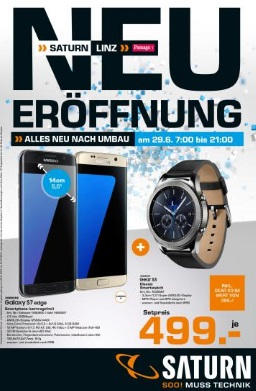 Saturn Linz Eröffnungsangebote Samsung
