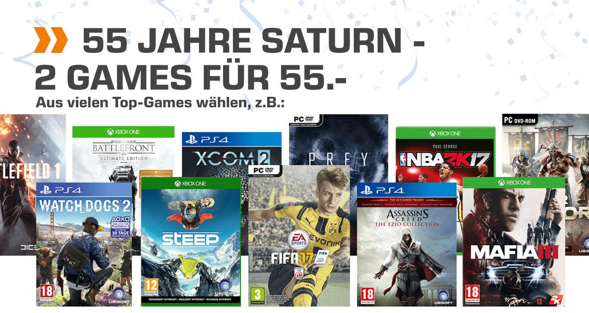 Saturn Games Geburtstag