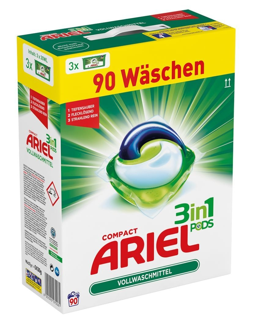Ariel 3 in 1 Pods Vollwaschmittel amazon