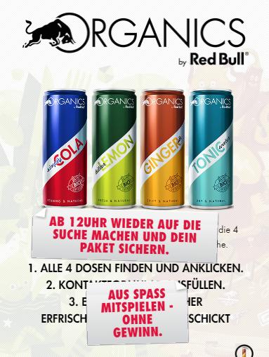 Red Bull Organics kostenlos
