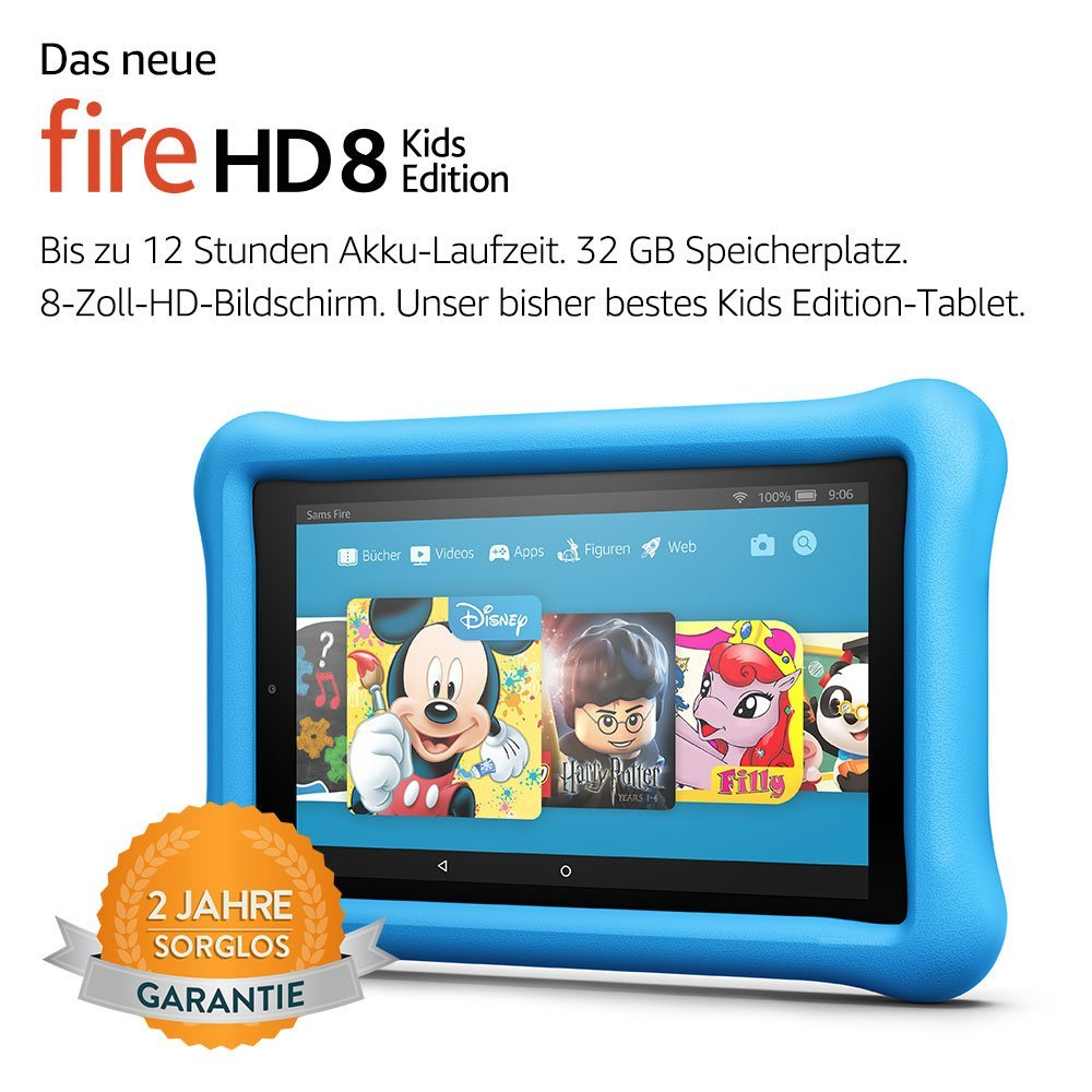 amazon Fire HD Tablet Kids