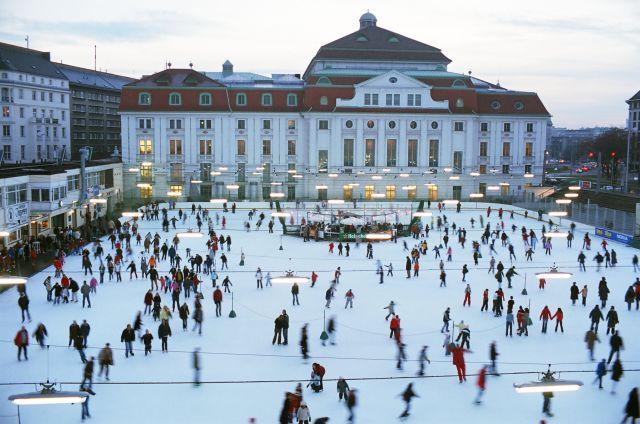 Eislaufen gratis Wiener Eislaufverein WEV Wien