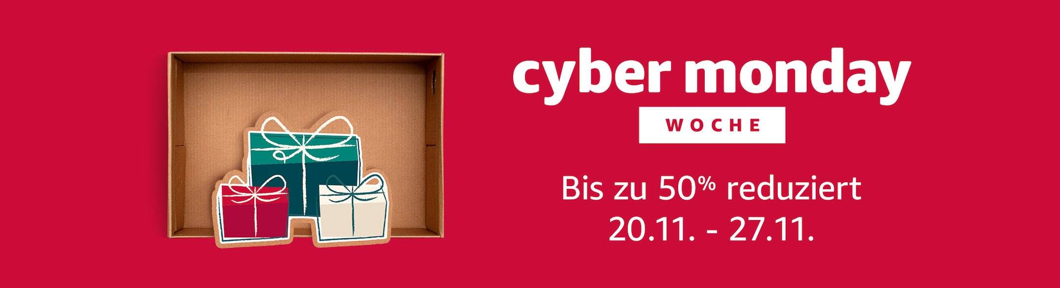 Cyber Monday Woche amazon