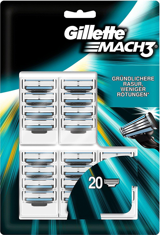 Gillette Mach3 Rasierklingen amazon