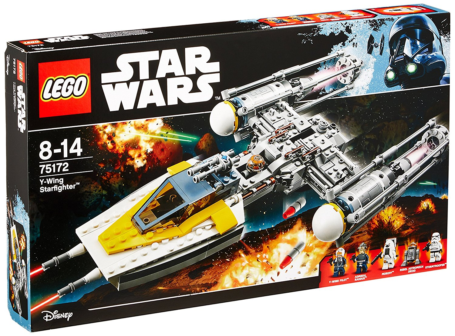 Lego Star Wars Y-Fighter amazon