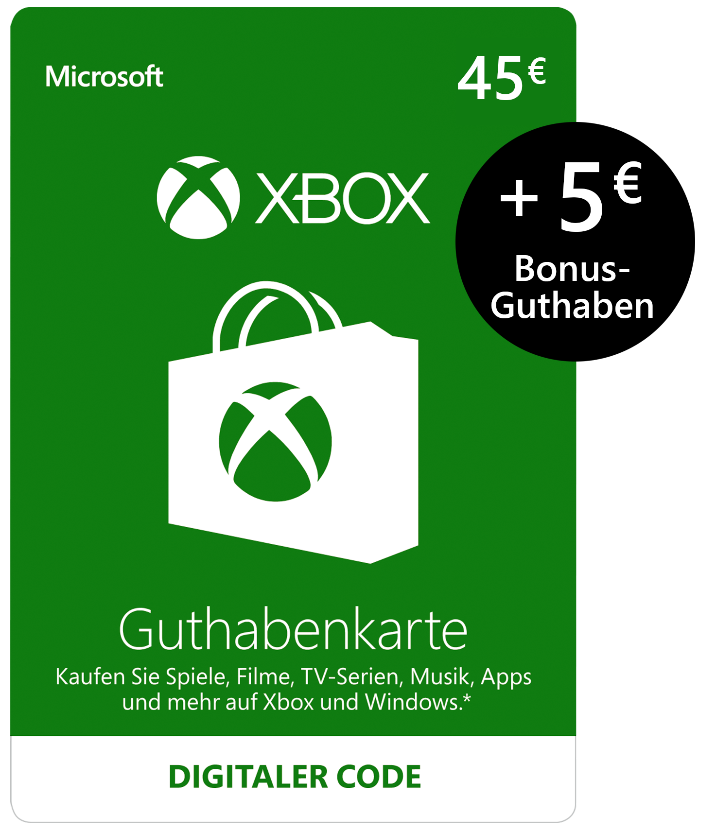 Xbox Live Guthaben amazon