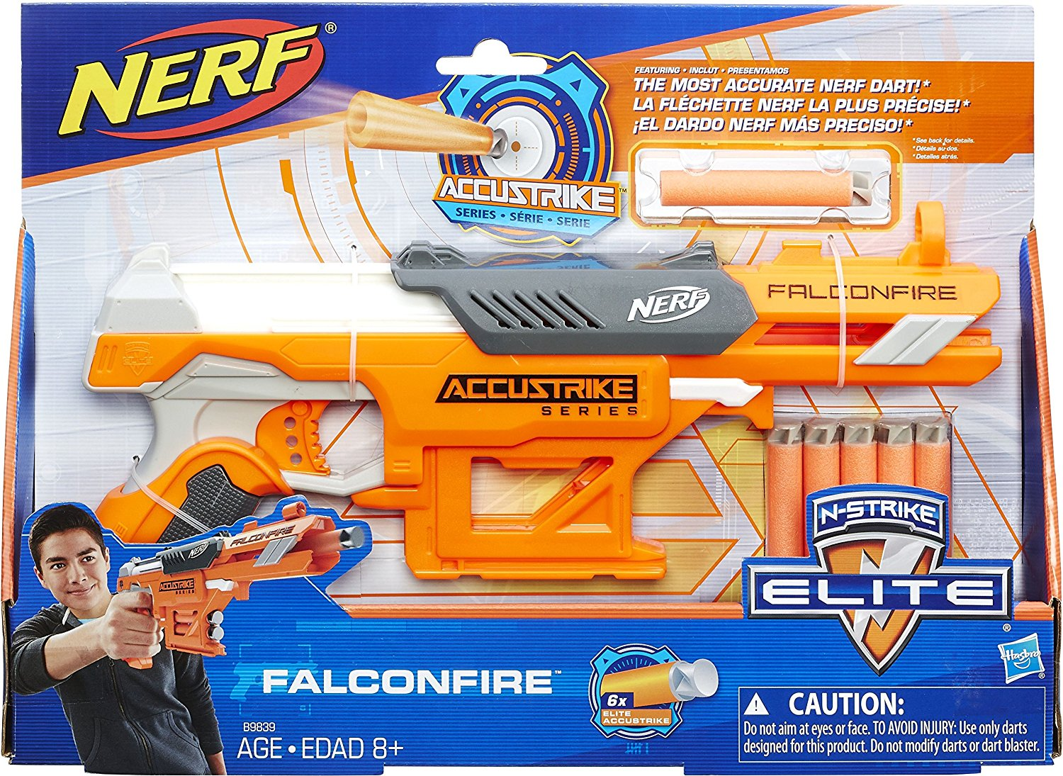 Hasbro Nerf Accustrike amazon