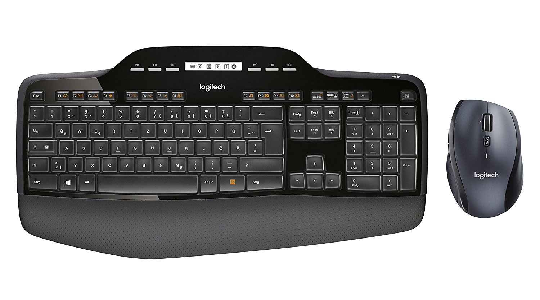 Logitech Desktop Combo Maus Tastatur amazon