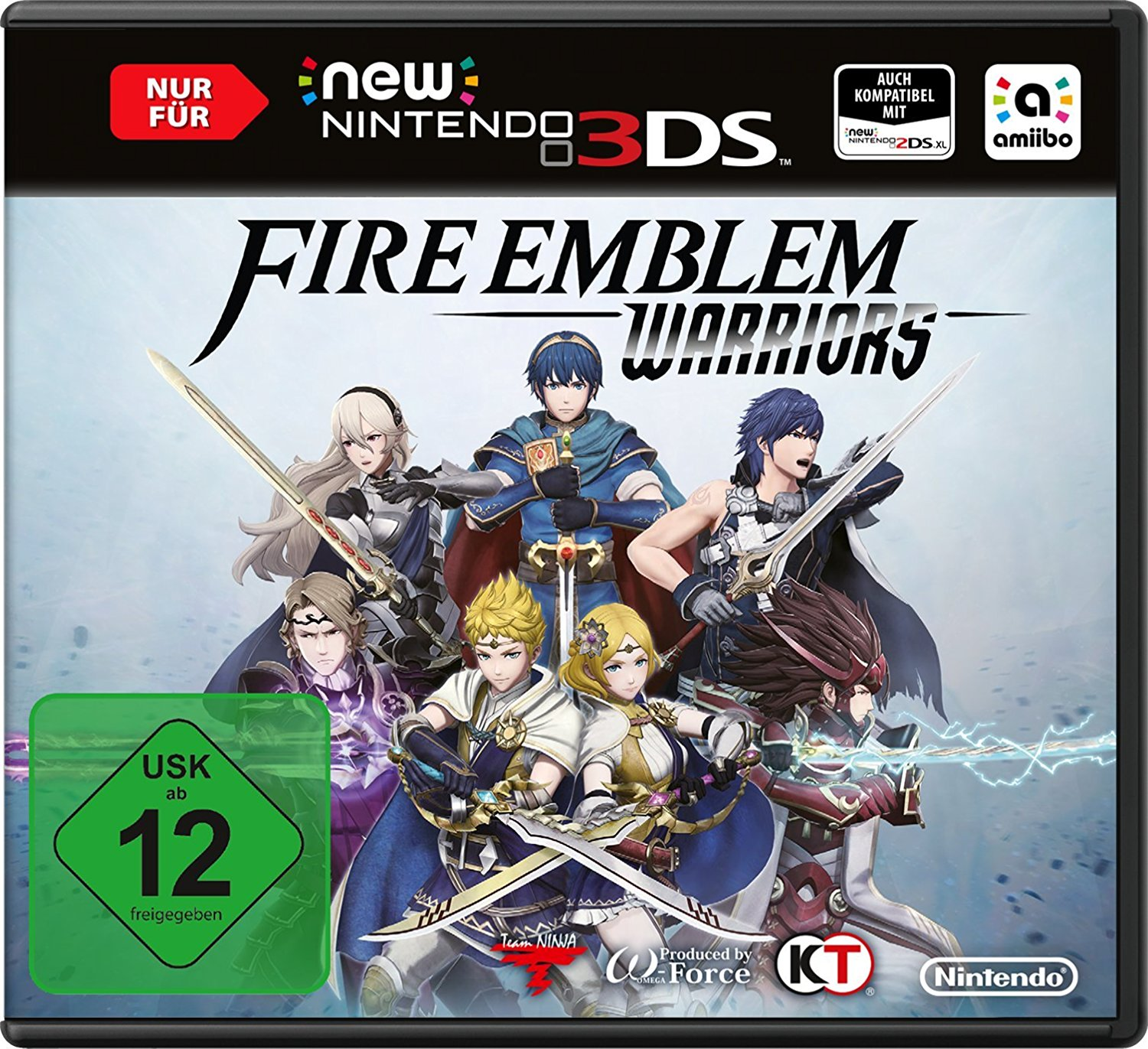 New Nintendo 3DS Fire Emblem Warriors amazon