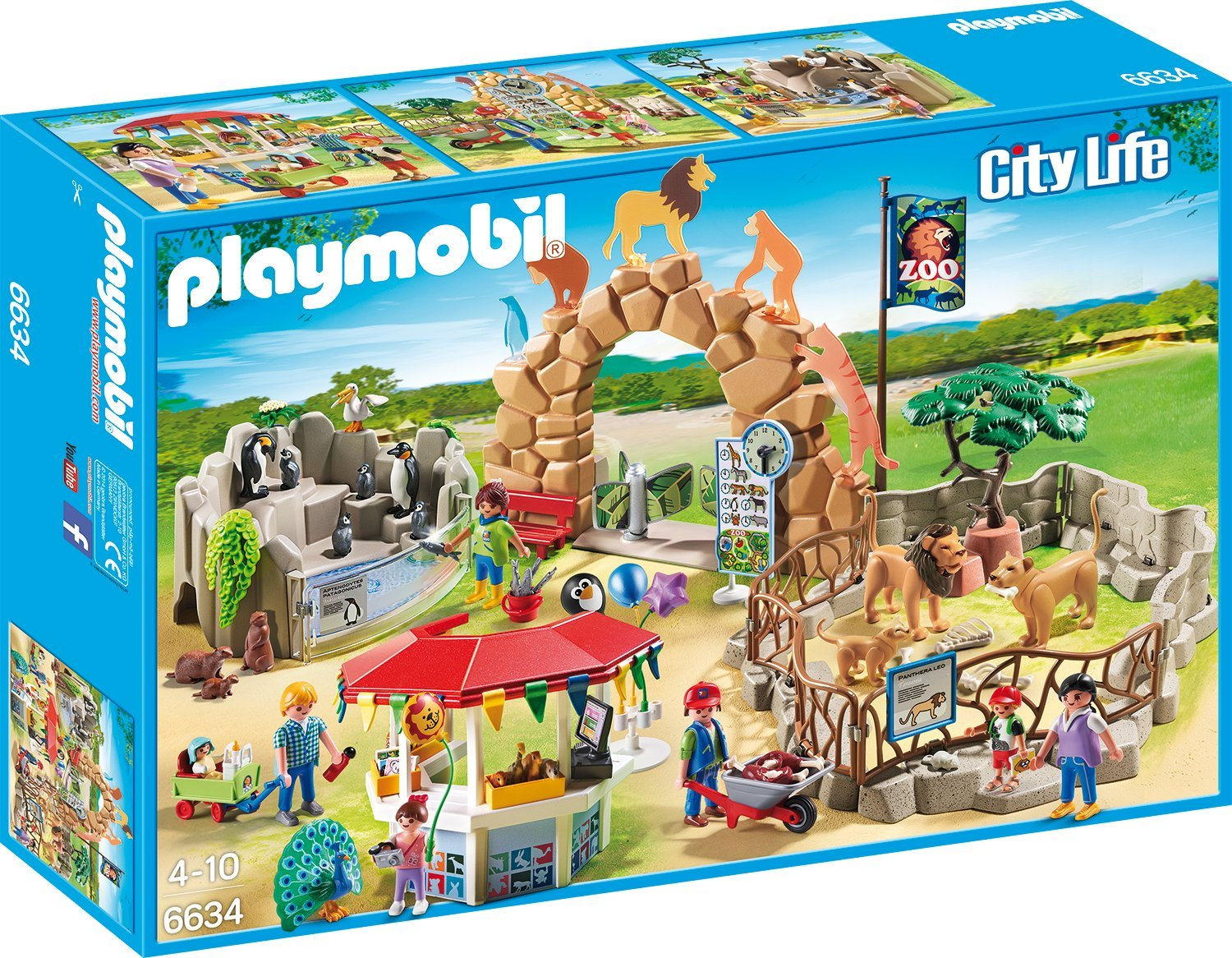 Playmobil Großer Zoo amazon