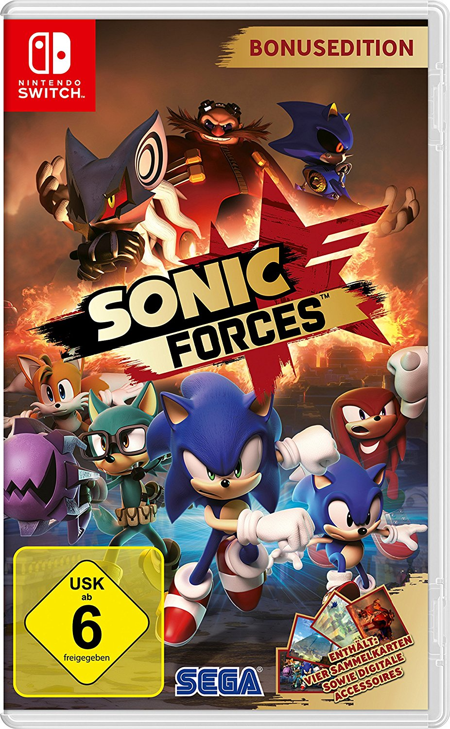 Sonic Forces Nintendo Switch amazon