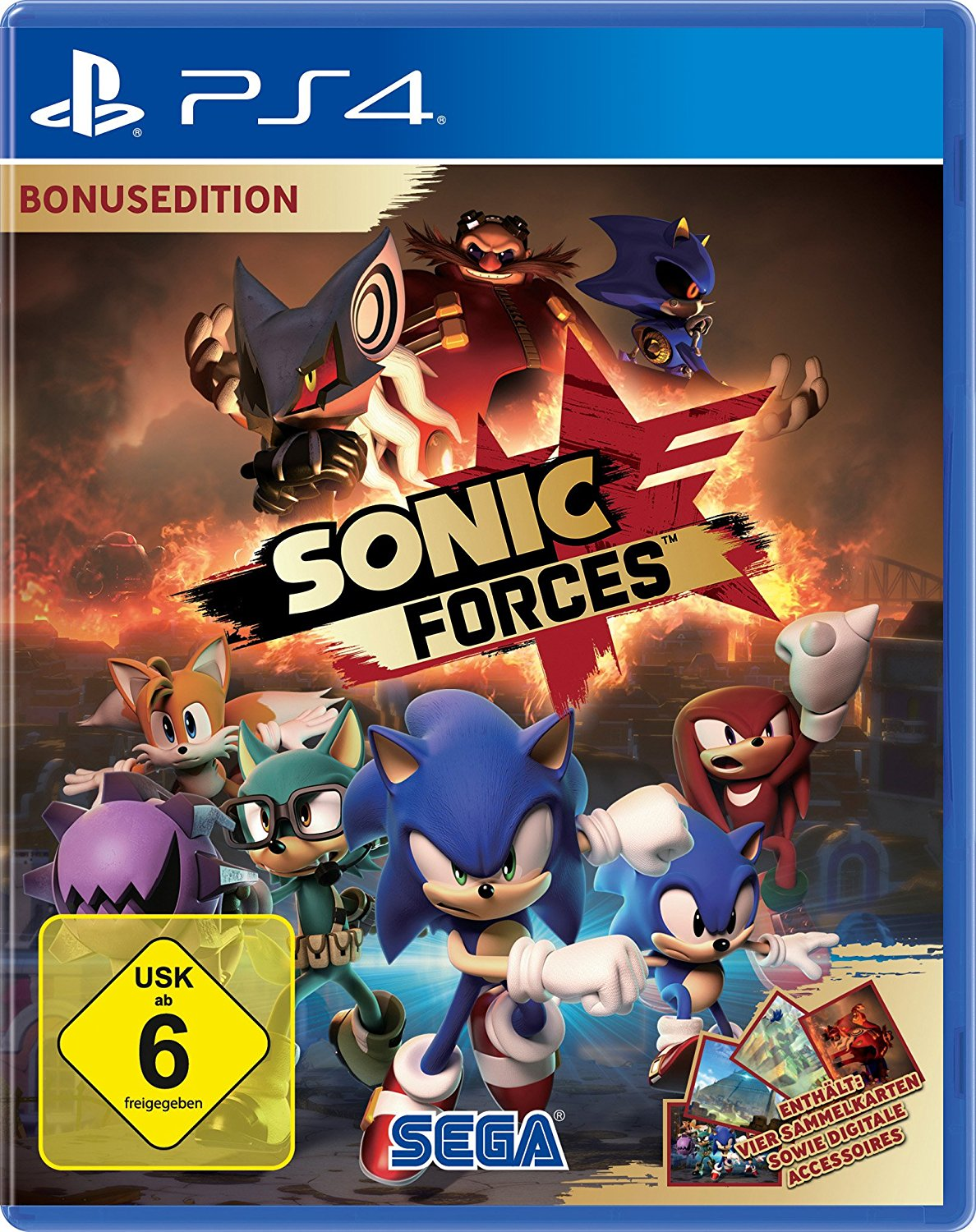 Sonic Forces PS4 amazon
