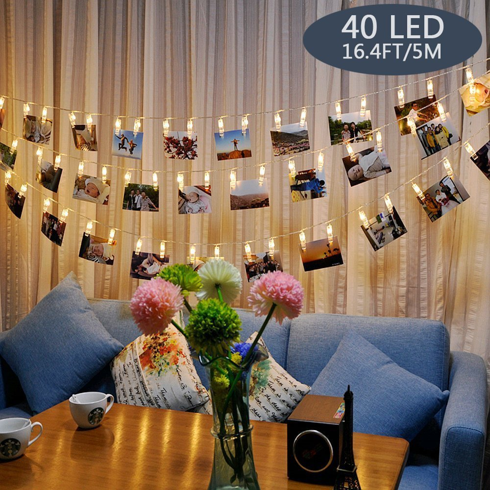 LED Foto Lichterkette amazon