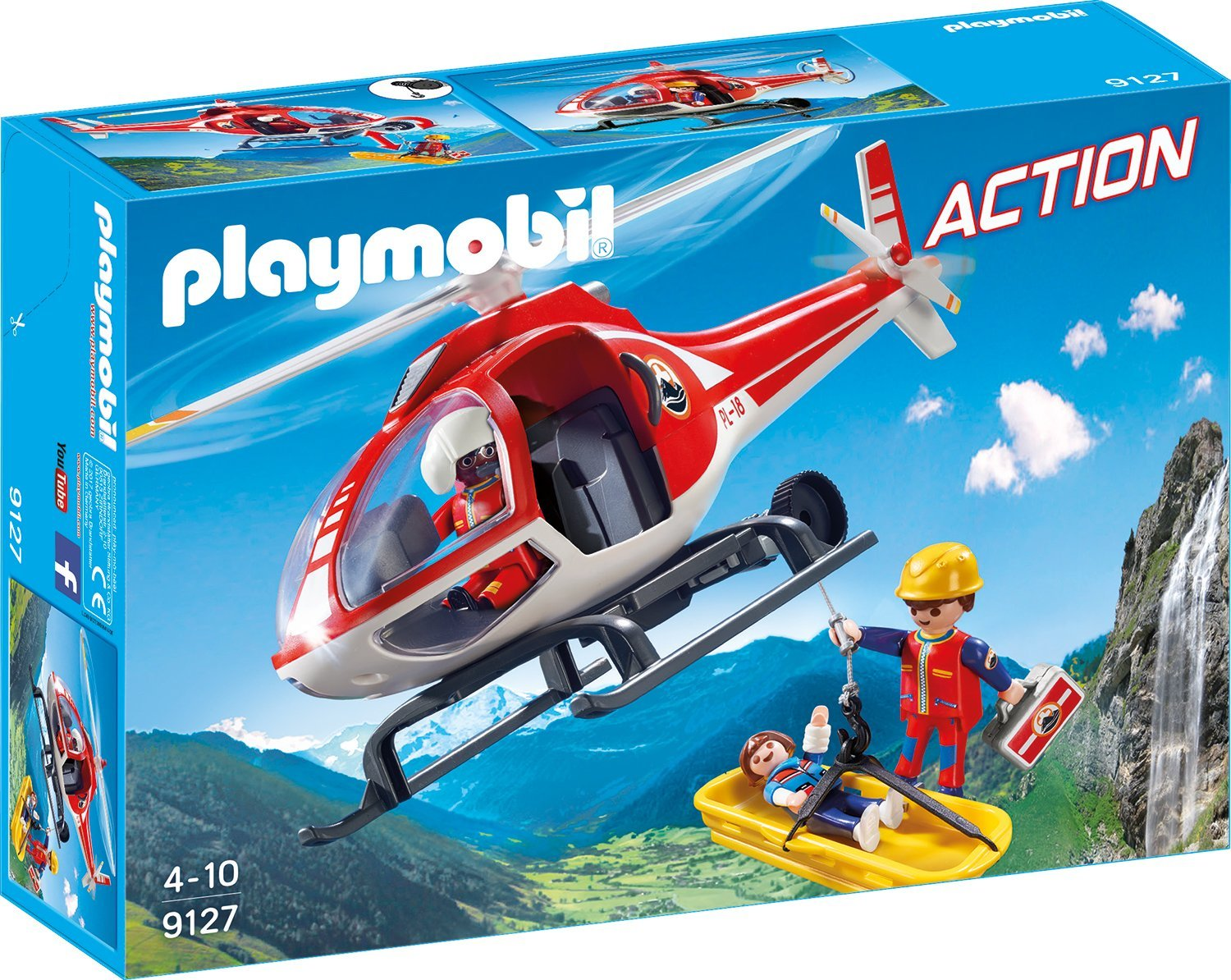 Playmobil Helikopter amazon