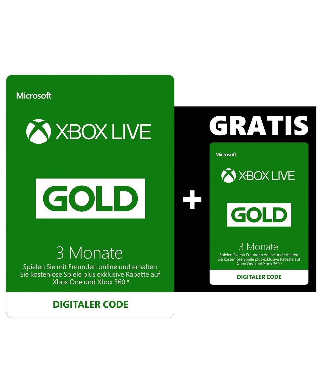 Xbox Live Mitgliedschaft amazon