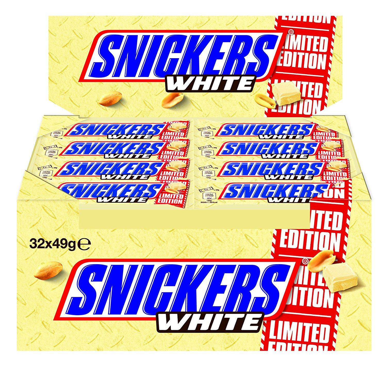Snickers White amazon