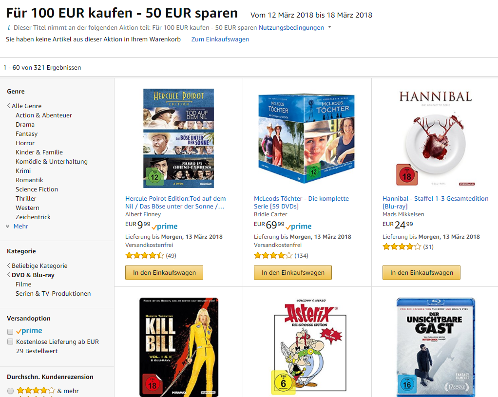DVD Blu-ray amazon