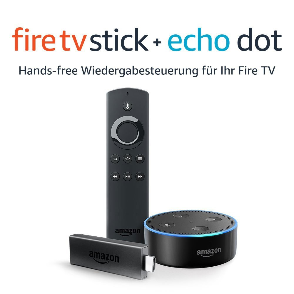 Fire TV Stick echo Dot amazon