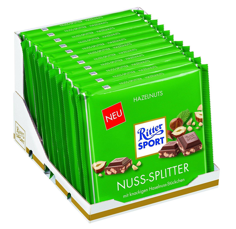 Ritter Sport Nuss Splitter Schokolade amazon
