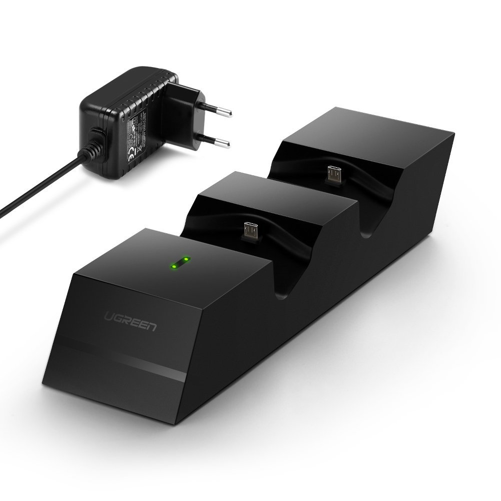 UGREEN PS4 Docking Station Ladegerät Controller amazon