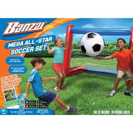Banzai Mega All-Star Fußballset amazon