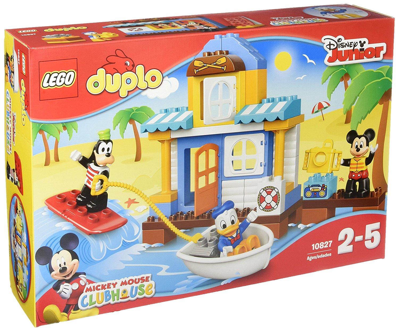 Lego Duplo Mickys Strandhaus amazon