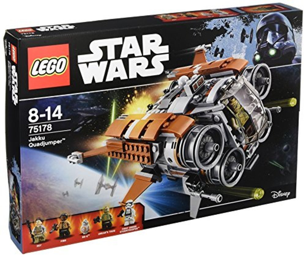Lego Star Wars Jakku Quadjumper amazon