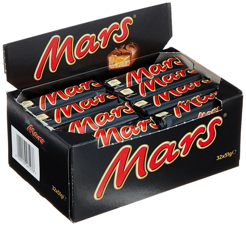 Mars Riegel amazon Prime