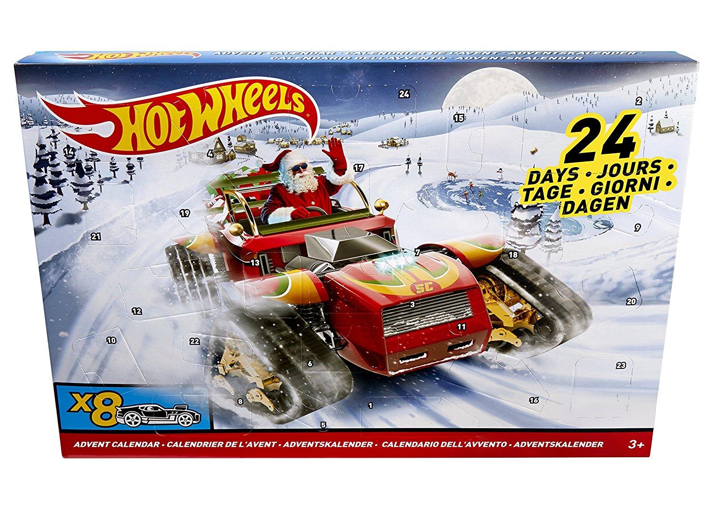 Mattel Hot Wheels Adventskalender amazon Schnäppchen