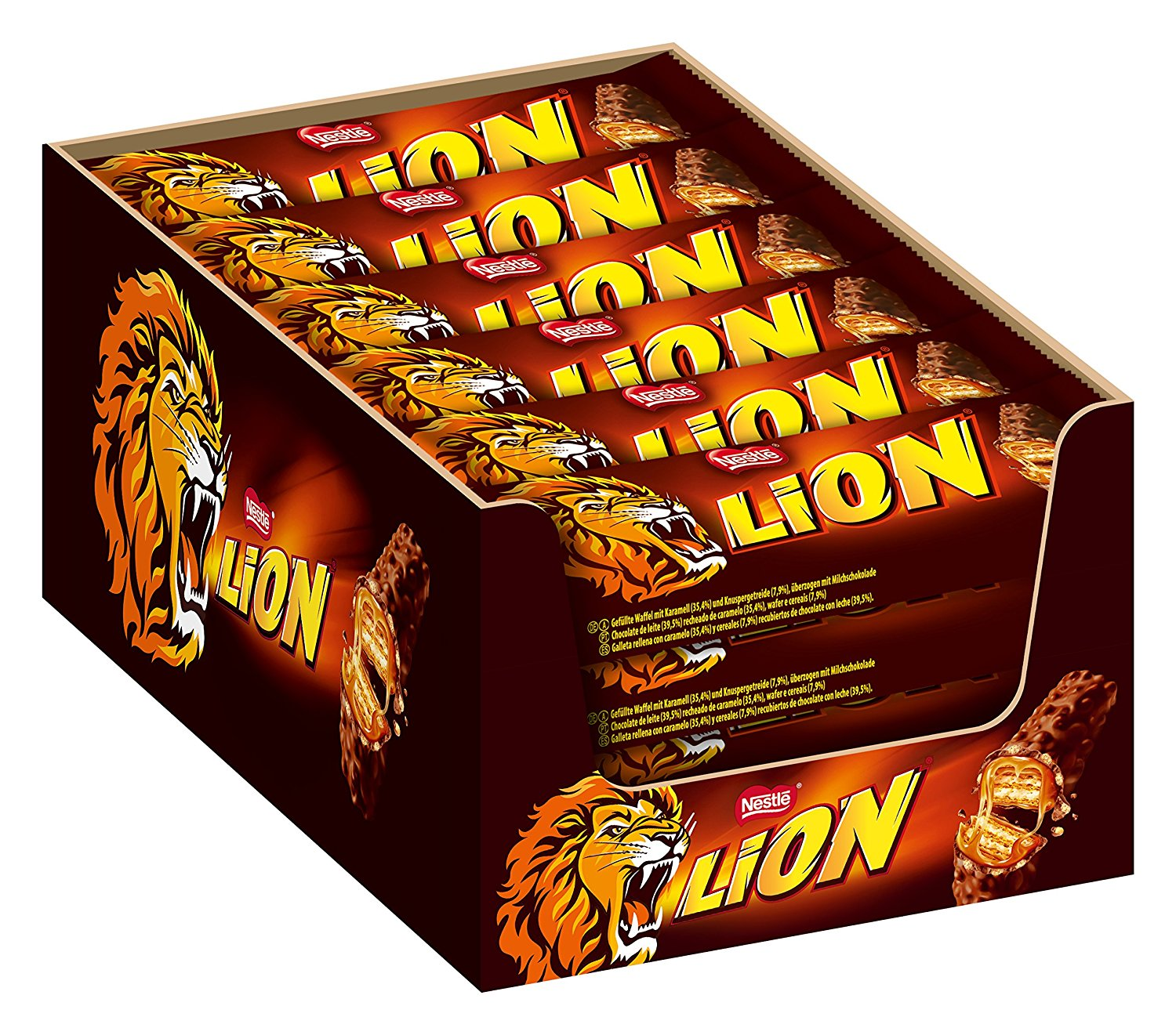 Nestle Lion Schoko Riegel amazon