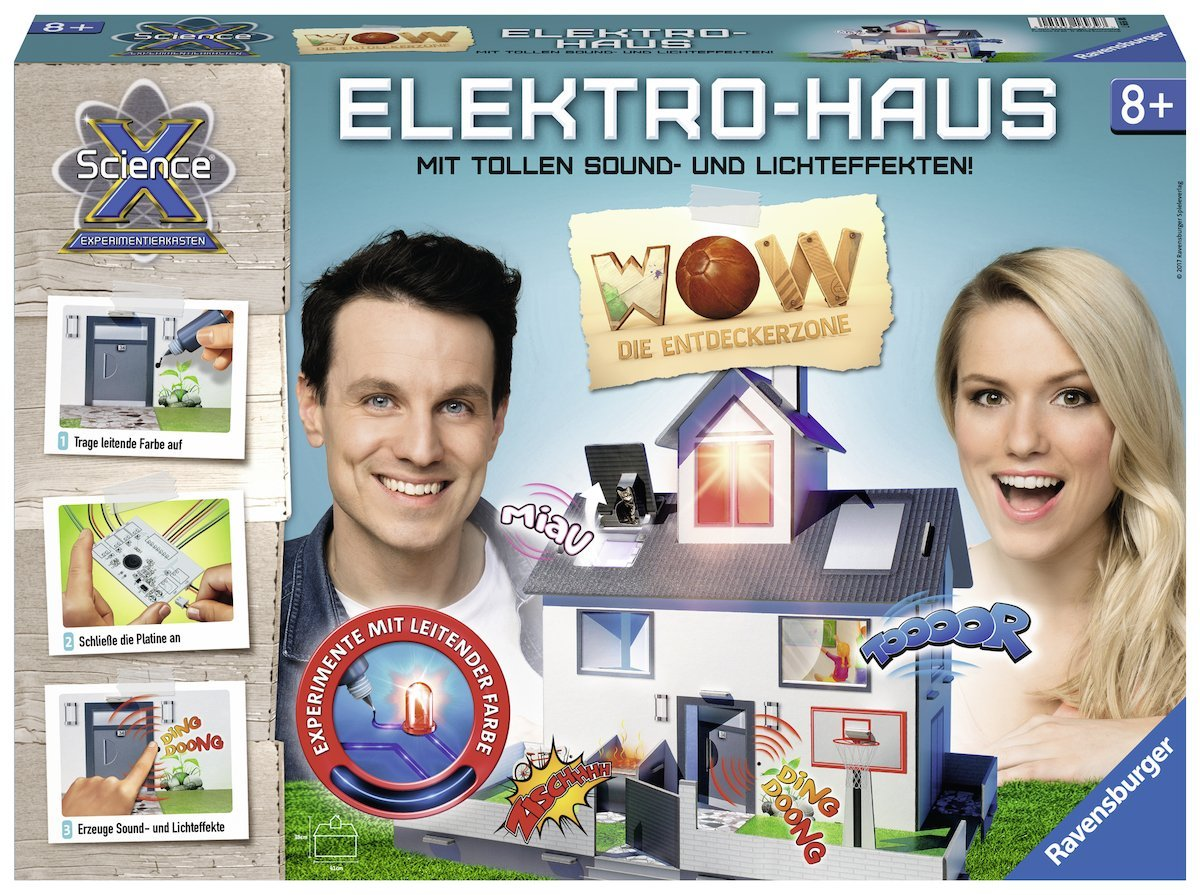 Ravensburger WOW Elektrohaus amazon