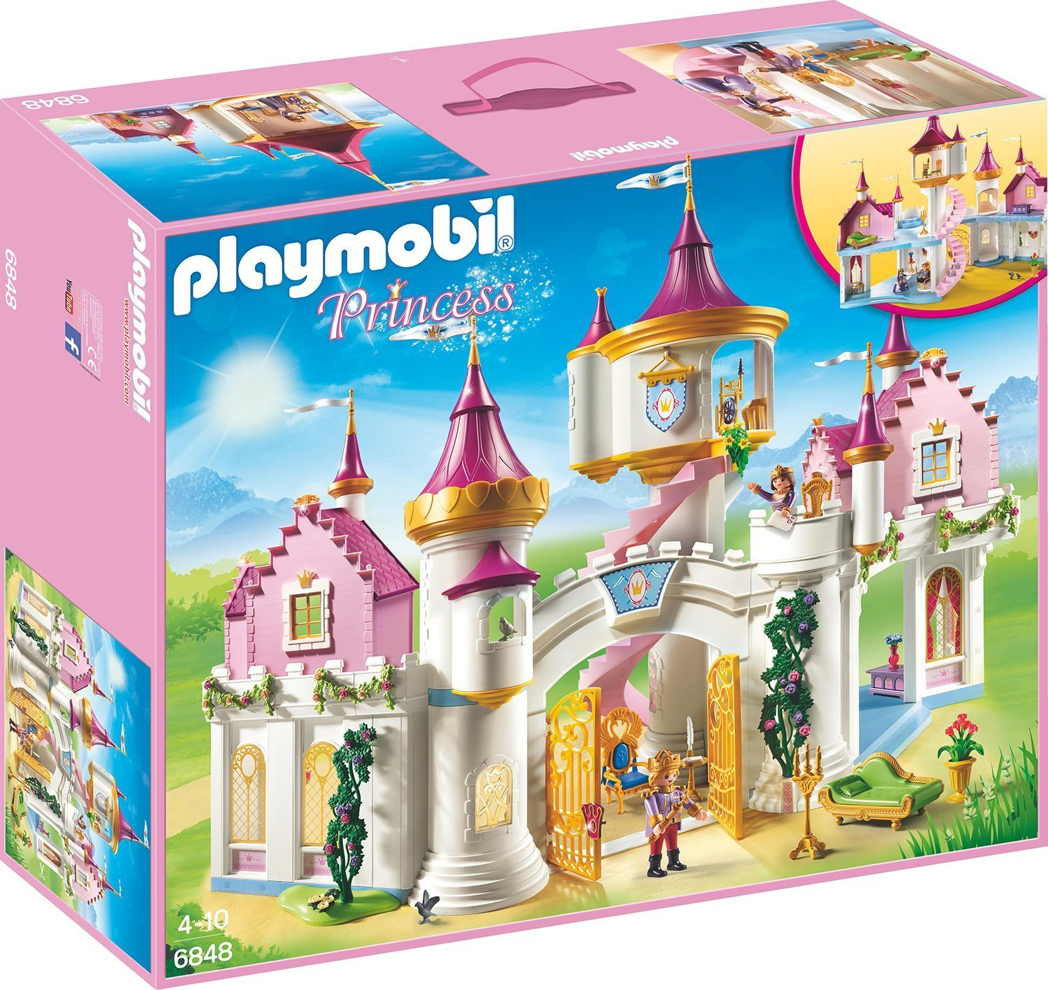 Playmobil Prinzessinnenschloss amazon