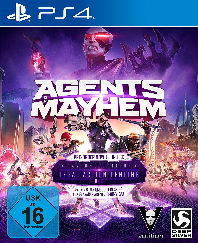 Agents of Mayhem PS4 amazon