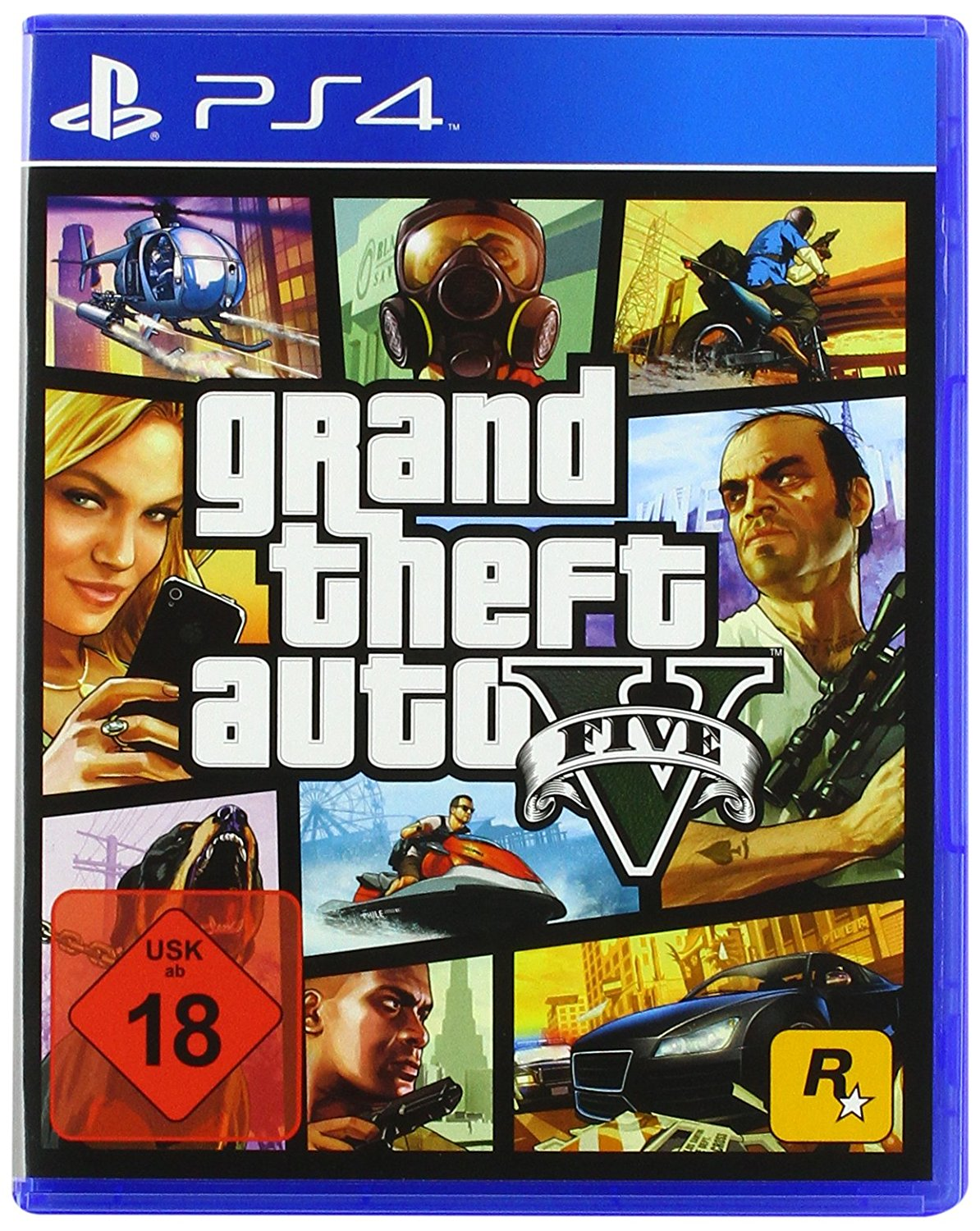 Grand Theft Auto 5 PS4 amazon