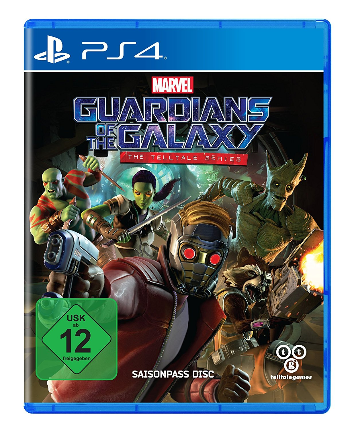 Guardians of the Galaxy PS4 amazon