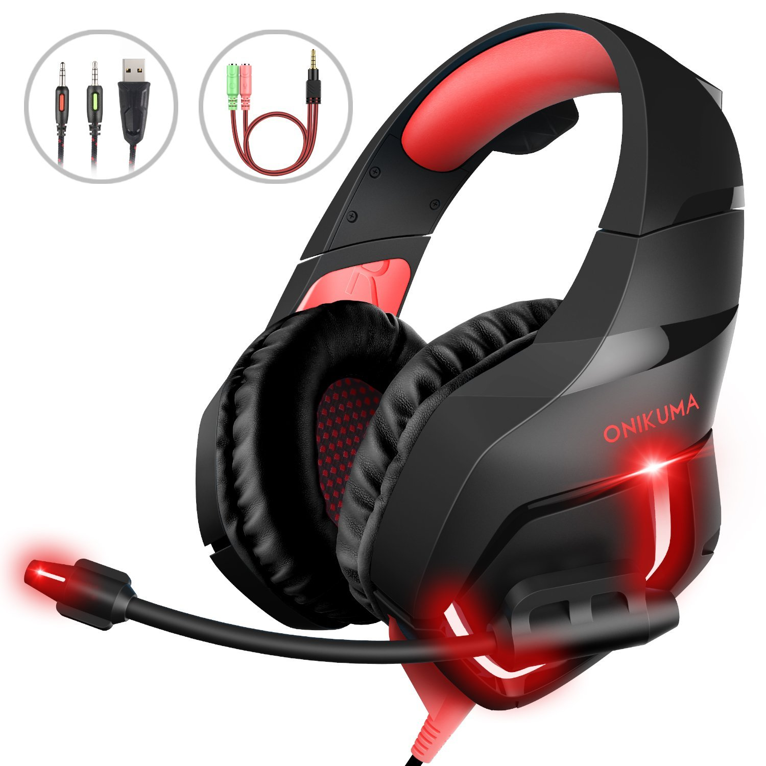 Headset Kopfhöer Gaming MillSO amazon