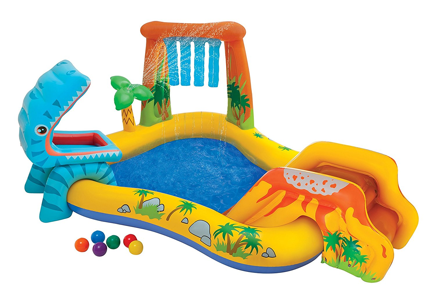 Intex Wasserspielcenter Dinosaurier amazon