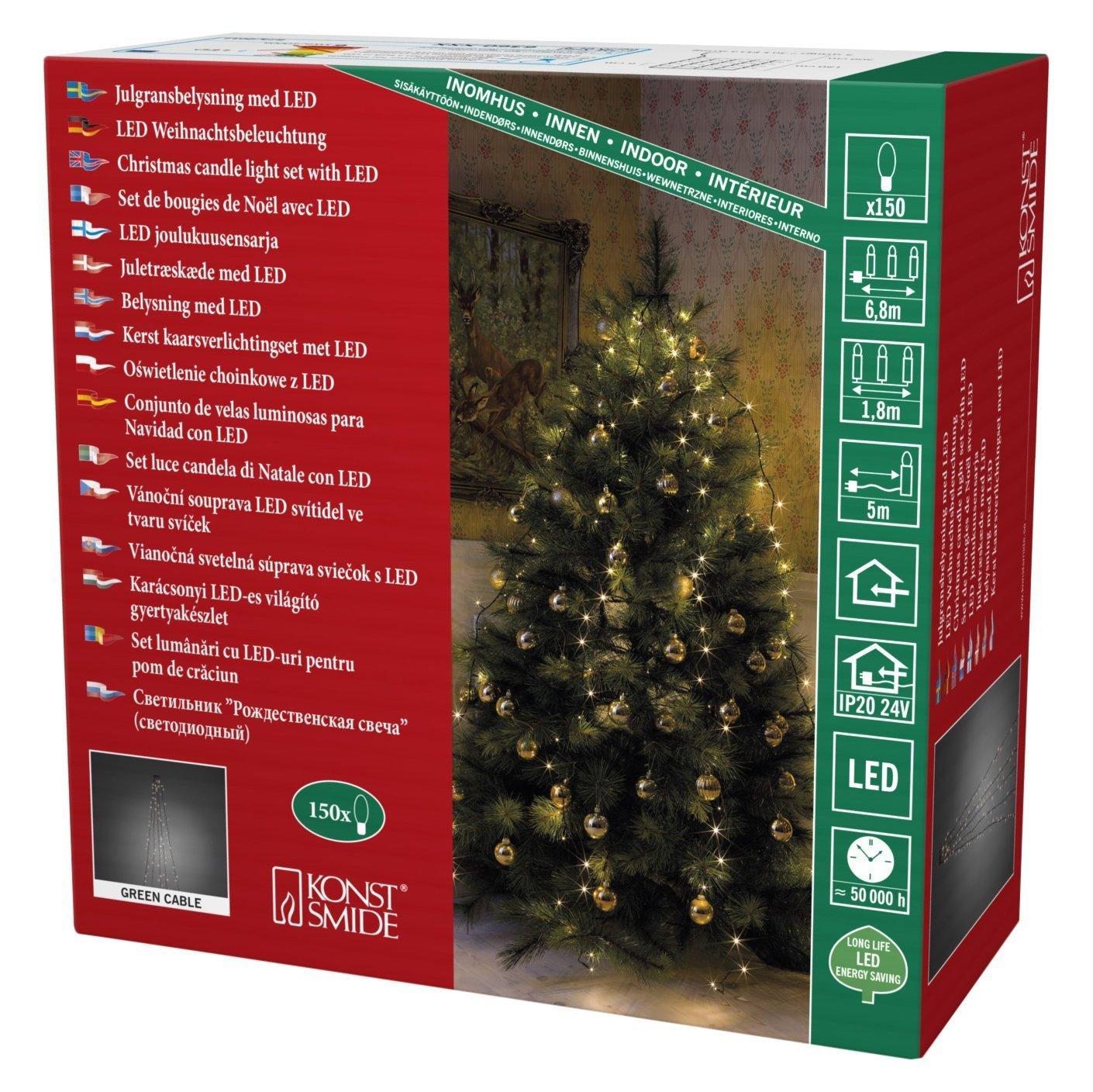 Konstsmide Baum Lichterkette LED amazon