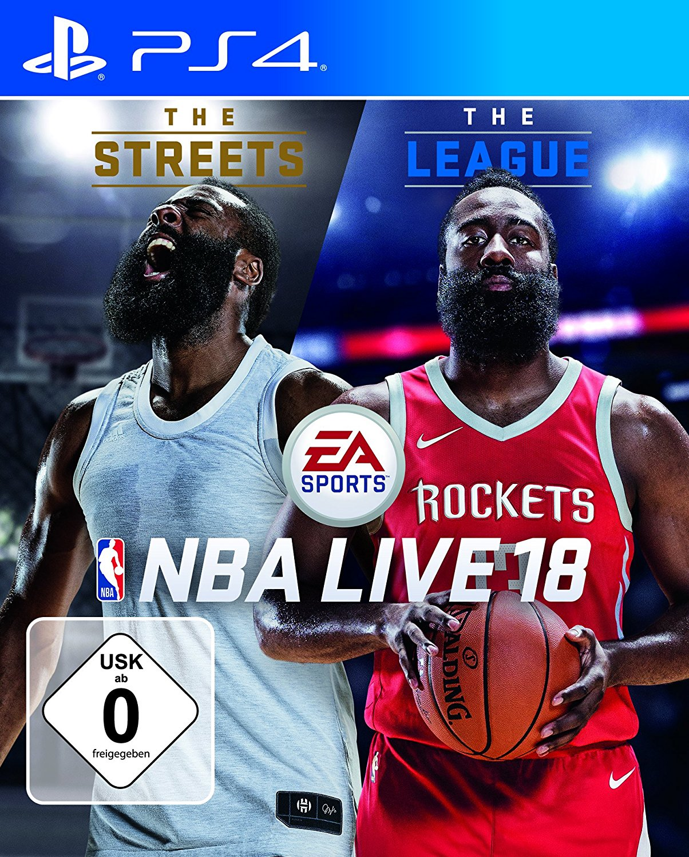 NBA LIVE 18 PlayStation amazon