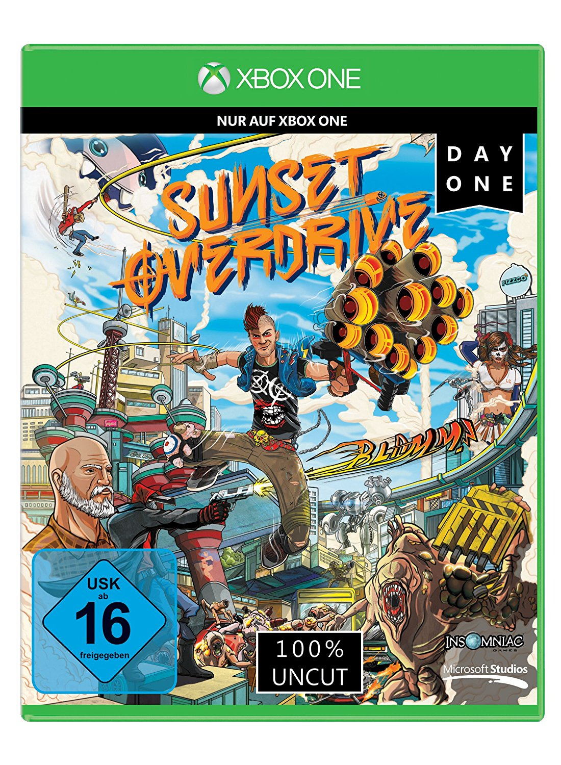 Sunset Overdrive Xbox One amazon