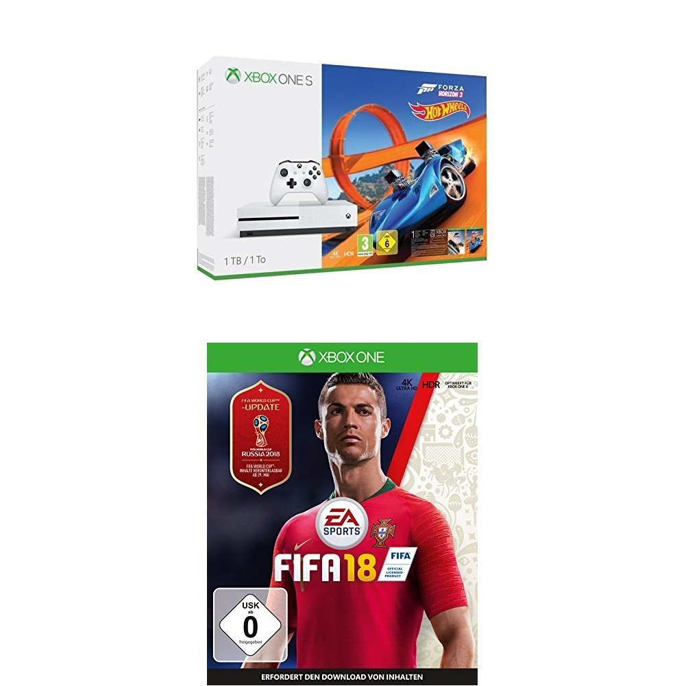 Xbox One Bundle FIFA Forza Horizon amazon