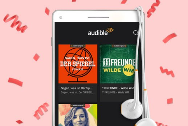 Audible Podcasts kostenlos amazon Prime