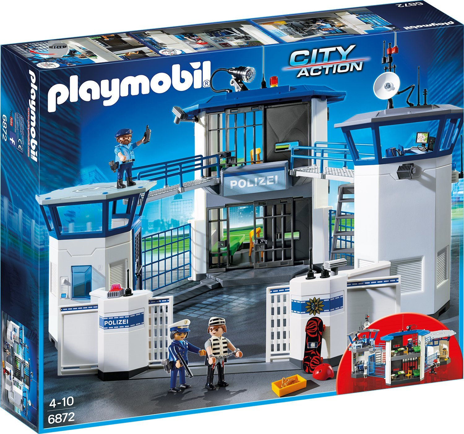 Playmobil Polizei CityAction amazon