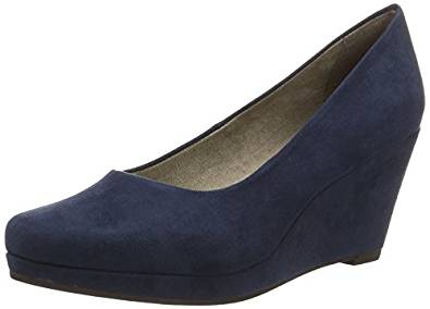 Tamaris Damen Pumps blau amazon